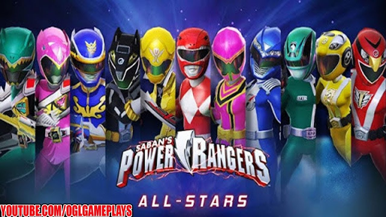 Now available, Power Rangers: All Stars RPG for iPhone and Android