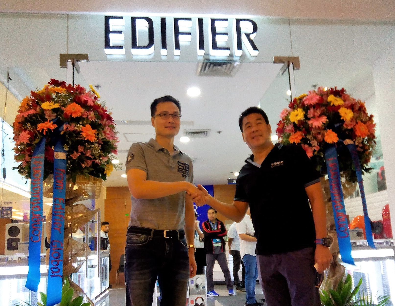 Banbros and PC Express launch PH 1st Edifier Concept Store in Megamall