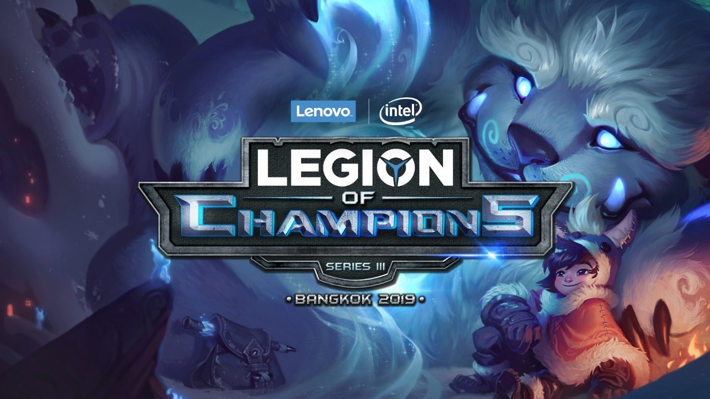 PH's ArkAngel competes in Lenovo-Intel's Legion of Champions III 2019 Grand Finals in Thailand