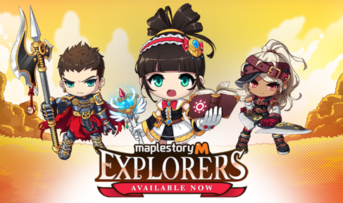 MapleStory M Intros 3 New Explorer Classes, Lots of Rewards for Players