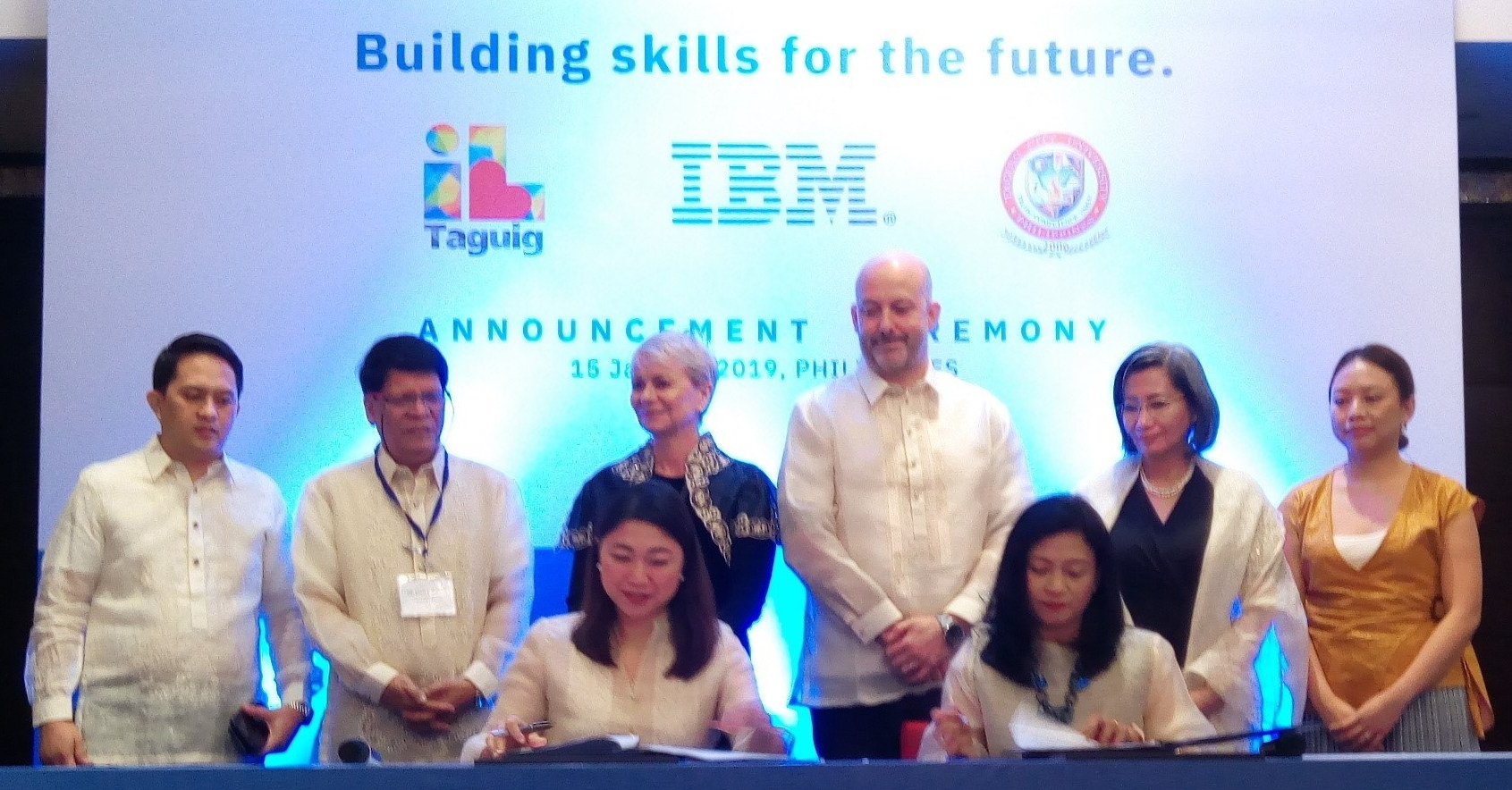 IBM, Taguig City & TCU arming Filipino students with STEM skills to prepare for 'new collar' jobs