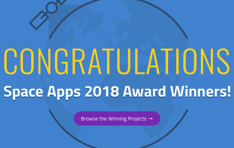 Philippines' iNON wins NASA Space Apps Challenge 2018's