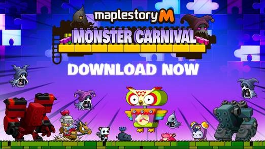 MapleStory M 2v2 unveils new 'Monster Carnival' dungeon update