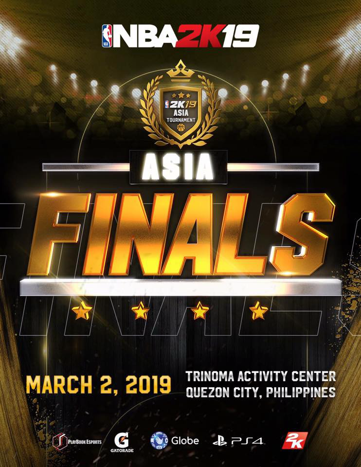 NCMF staff beats 7 players to win NBA 2K19 Asia Championship