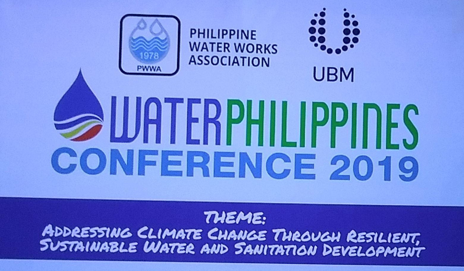 At Water Philippines Conference 2019: 'No water crisis' — Palace