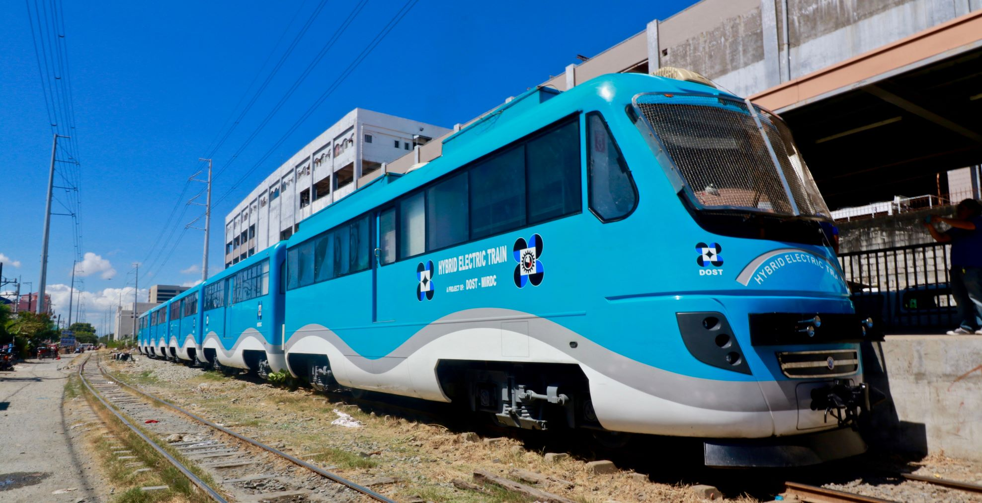 No Hitches for DOST's Php120-M Filipino-Made Train on PNR Tracks