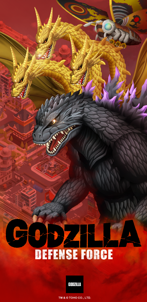 Nexon's Godzilla Defense Force Smashes onto Mobile Devices Worldwide