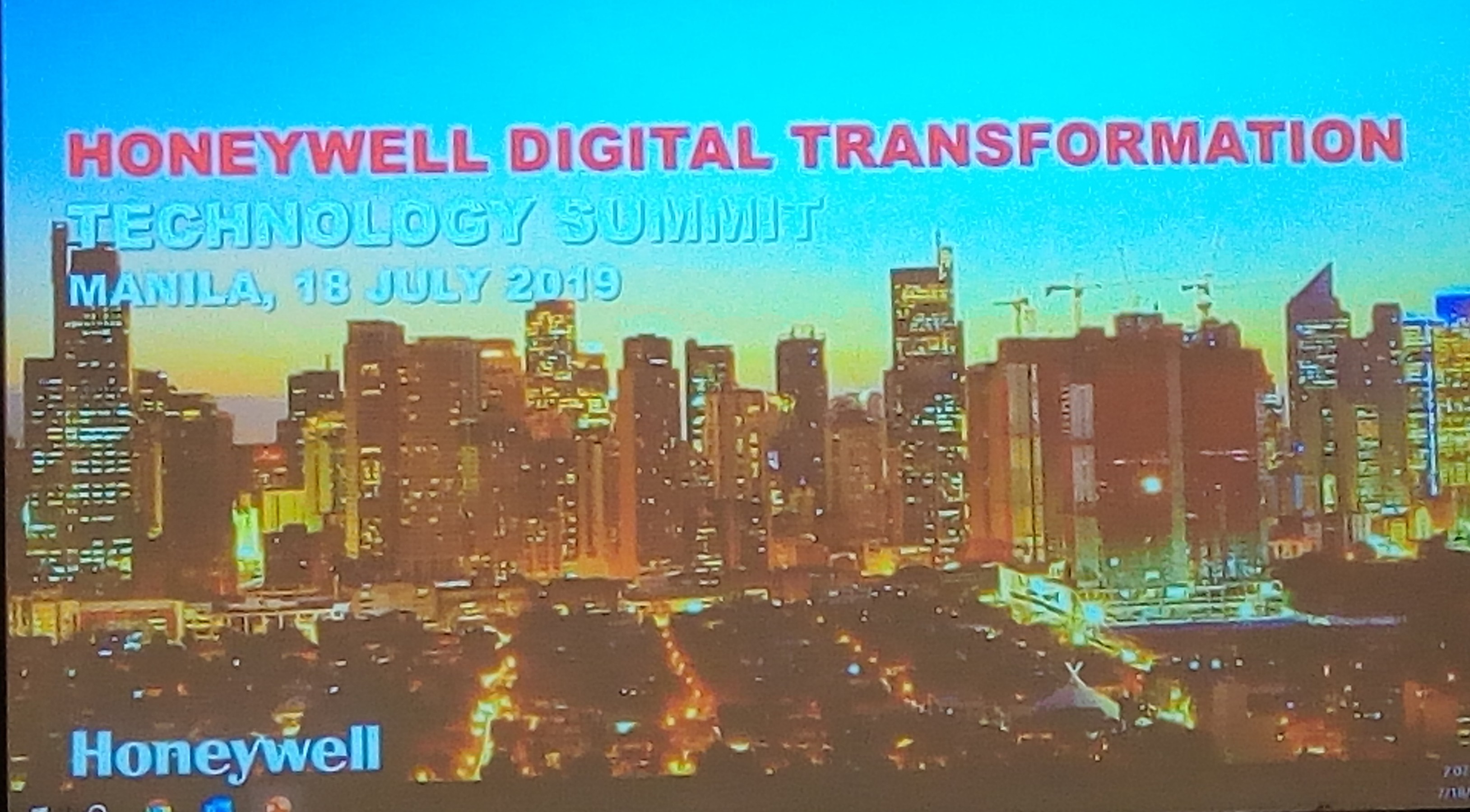Honeywell Presents Technology that Enables Digital Transformation in PHL