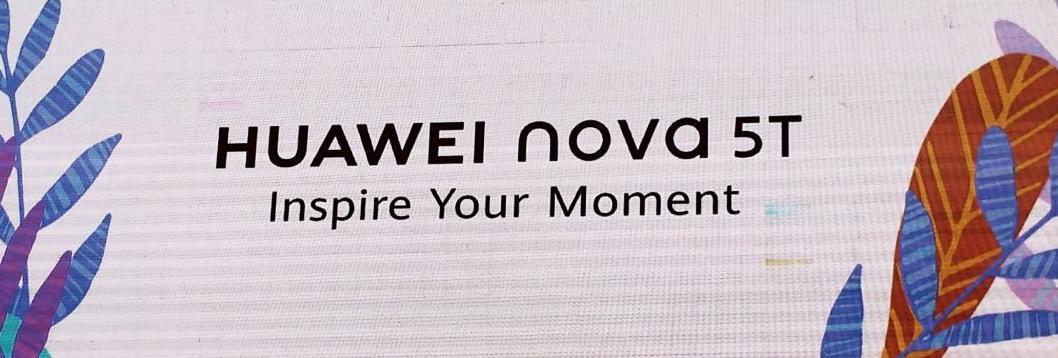 Huawei Nova 5T Comes with 5 Cameras