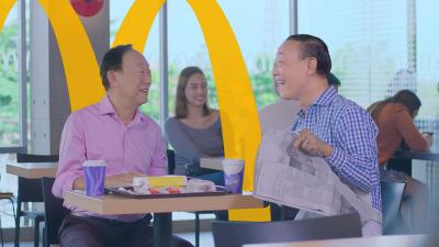 Jose Mari Chan Teams Up with McDonald's George Yang