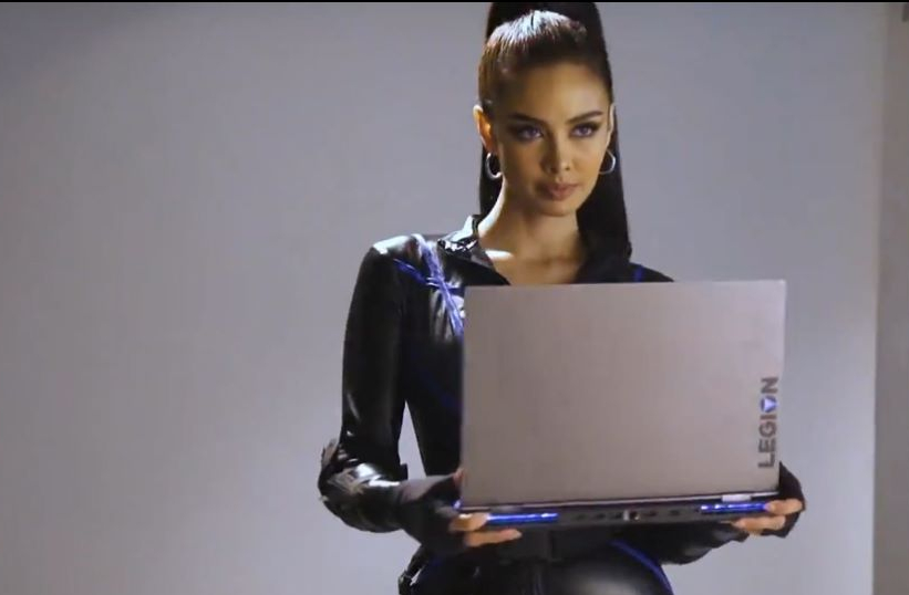 Miss World Meghan Young: Face of Lenovo