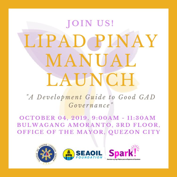 Groups Launching 'LIPAD Pinay' Guide to GAD