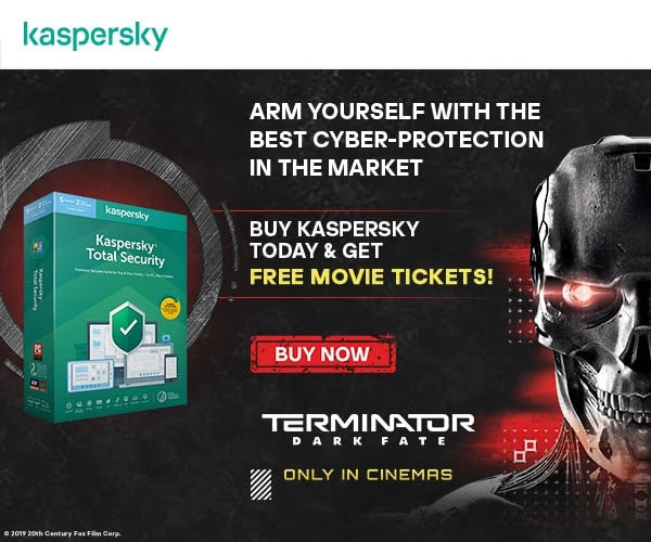 Kaspersky, 20th Century Fox Partners for 'Terminator: Dark Fate'