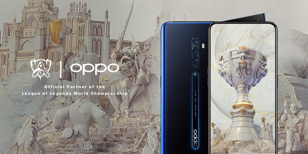 Riot Games, OPPO in Deal for League of Legends