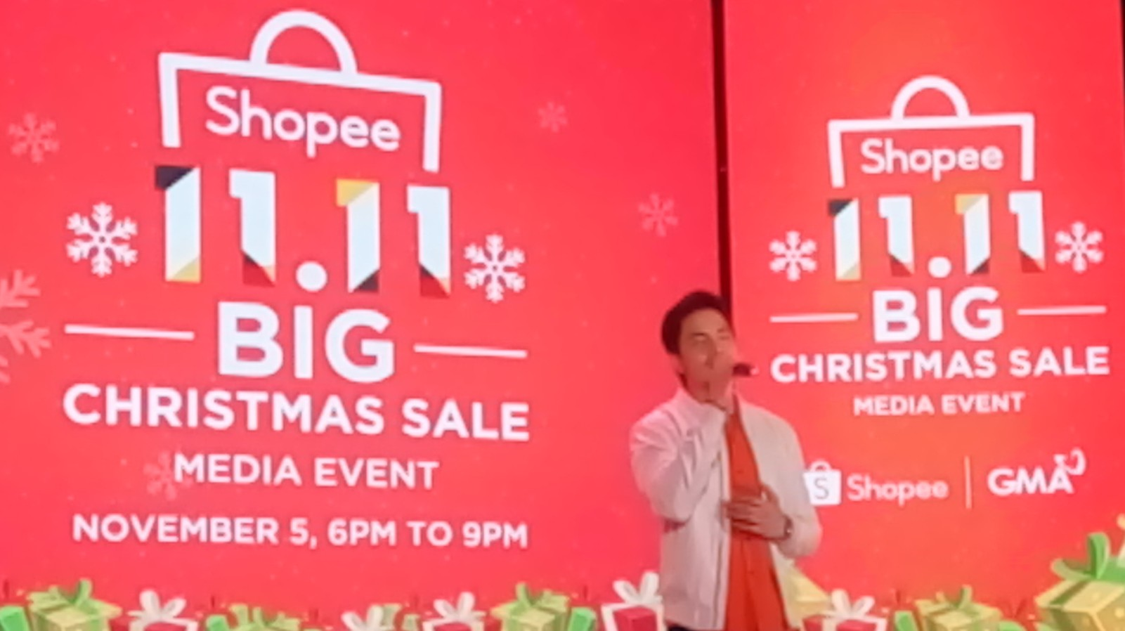 Shopee, Big Christmas Sale, Big TV Special, 2019, GMA7, 11.11