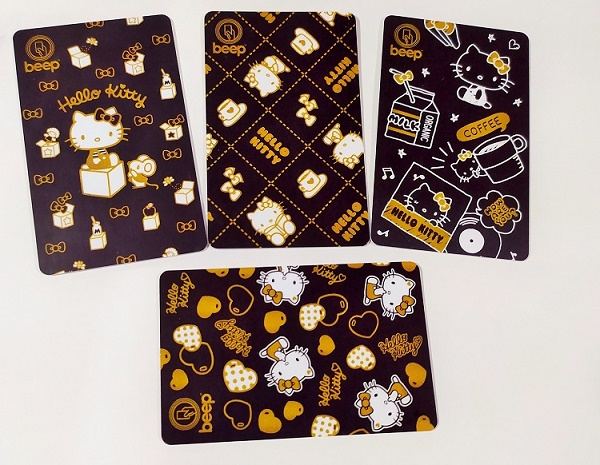 'Hello Kitty' beep™ Cards Now in Daiso Japan Shops
