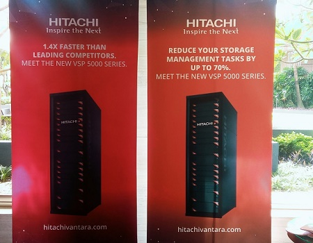 Hitachi Vantara's VSP 5000 Is 'World's Fastest'