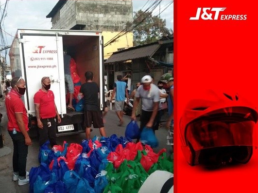 J&T Express, logistics, delivery, Covid-19, pandemic