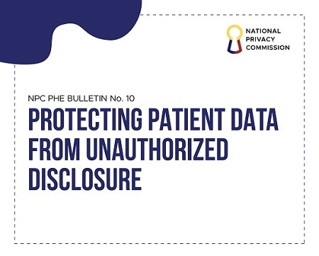 Privacy Commission, NPC, patient data, unauthorized disclosure, Covid-19
