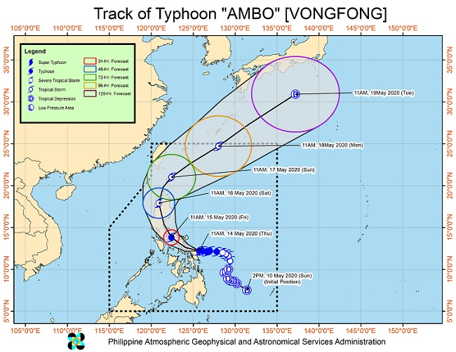 Typhoon 'Ambo' Brings Winds, Heavy Rainfall over Bondoc Peninsula