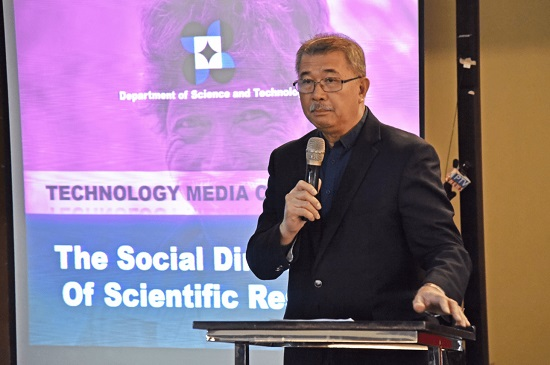 De la Peña Report: Initiatives of DOST on Covid-19 in Pictures