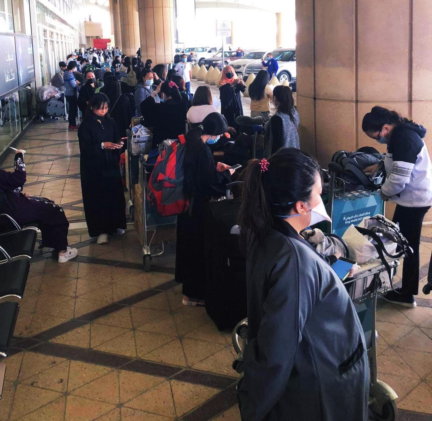 347 OFWs Arrive Today from KSA via PAL Flight