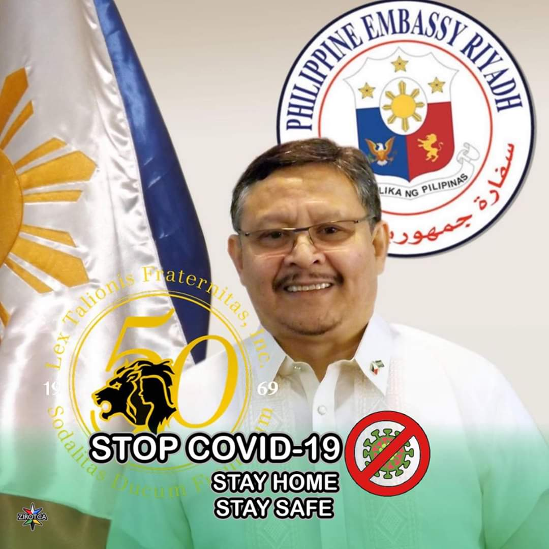 OFW, Amb. Alonto, PAL, Riyadh, Manila, repatriation